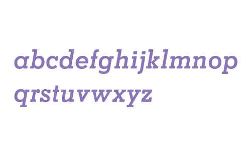 Memphis LT Std Bold Italic