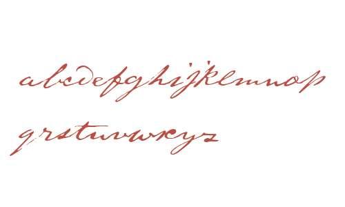 1871 Dreamer Script Normal