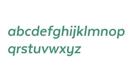 Texta W00 Bold Italic