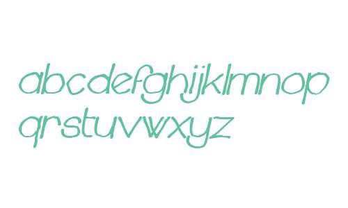 Chavenir W00 Bold Italic