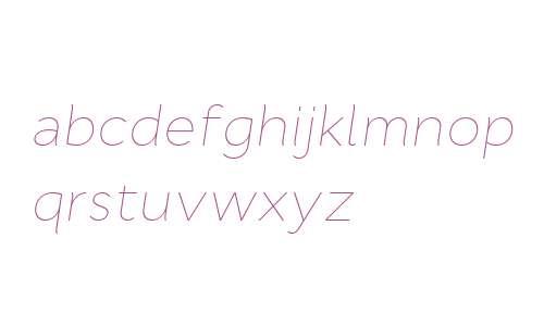 Cyntho W00 Thin Italic
