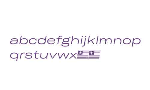 GT America Expanded Light Italic