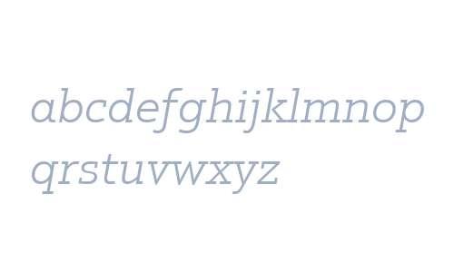 Justus W02 Light Italic