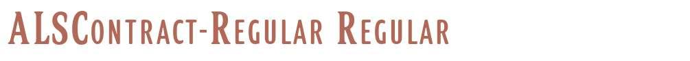 ALSContract-Regular