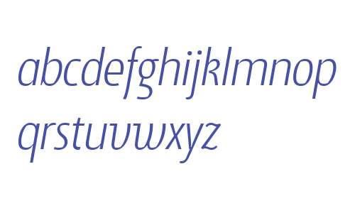 Suomi Sans W01 Light Italic