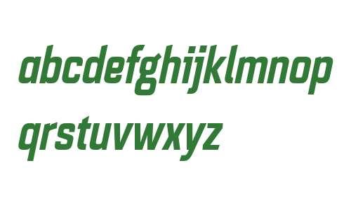 Quarca W01 Cond Bold Italic