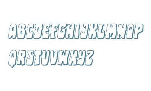 Pocket Monster Shadow Italic