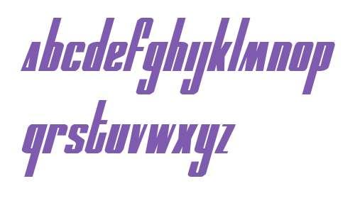 MOON Runner Italic