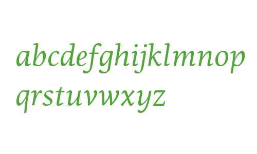 PF Centro Serif W01 Italic