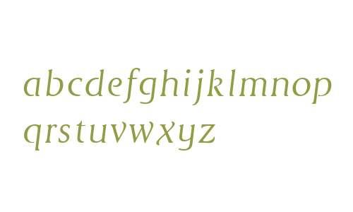 Cyan Neue W00 Italic