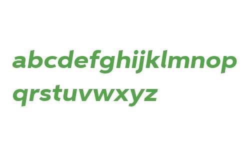 Aspira XWide W01 Heavy Italic