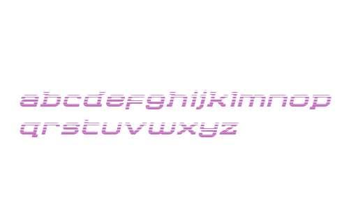 Cydonia Century Gradient Italic