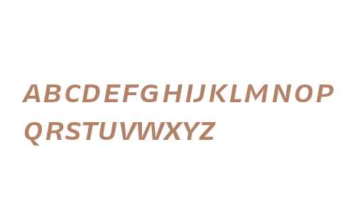 FagoExTf-MediumItalicCaps
