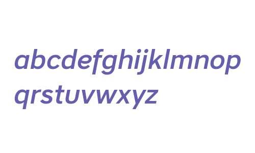 CoreSansA55Medium-Italic