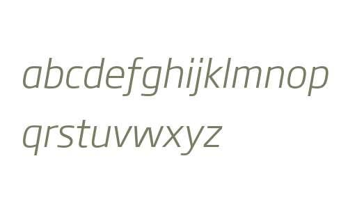 Soho Gothic W04 Light Italic