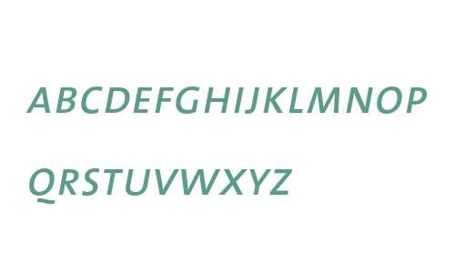 TheMix- Caps Italic