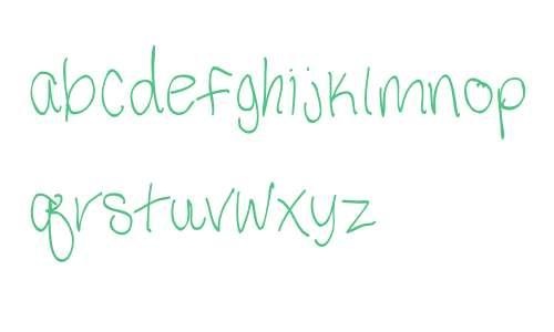 Third Grade Handwriting