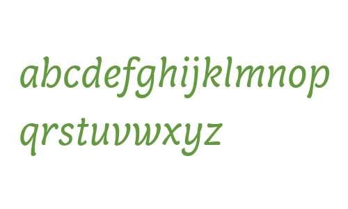 Capucine Web Basic Regular Italic