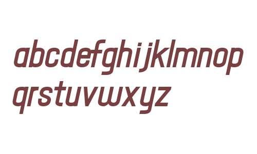 Hallandale Text Bold Italic JL V2