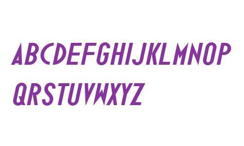 Ano Bold W00 Wide Italic