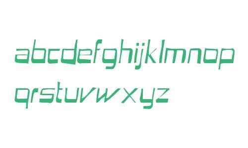Astron Boy Gaunt Italic