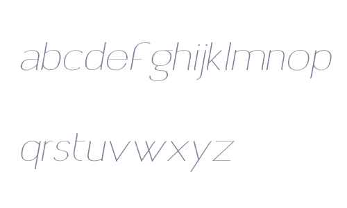 Archivio Italic W Contrasted