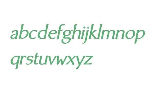 BodyCopy Sans W01 Heavy Italic