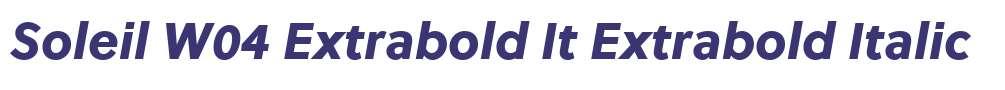 Soleil W04 Extrabold It