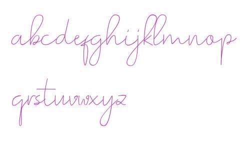 Romances Script Font