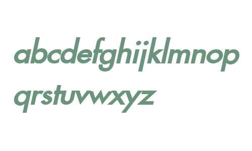 Fusi Bold Italic