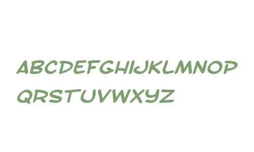SF Toontime Extended Bold Italic V1