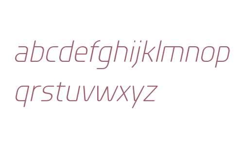 Planer W00 Light Italic
