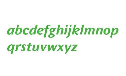 Wunderlich OT W03 Bold Italic