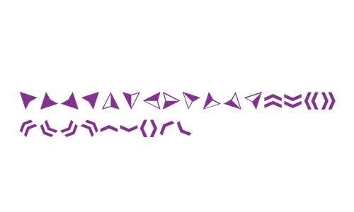 Acta Symbols W95 Arrows