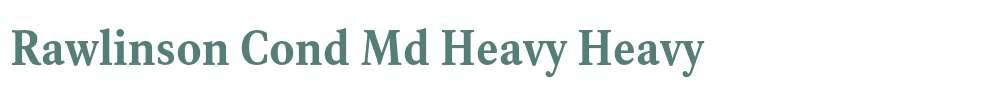 Rawlinson Cond Md Heavy