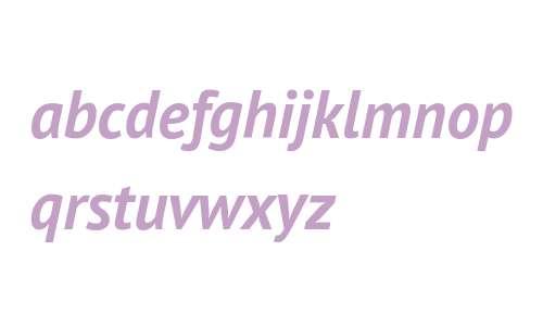 PT Sans Pro Bold Italic