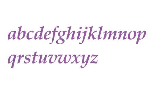 Zapf Calligraphic 801 W03 Bd It