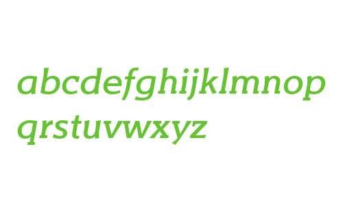 Titla Brus W03 Medium Italic