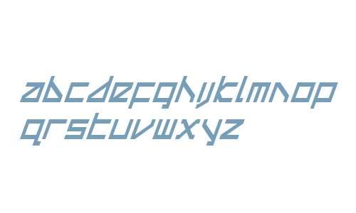 Delta Ray Condensed Italic