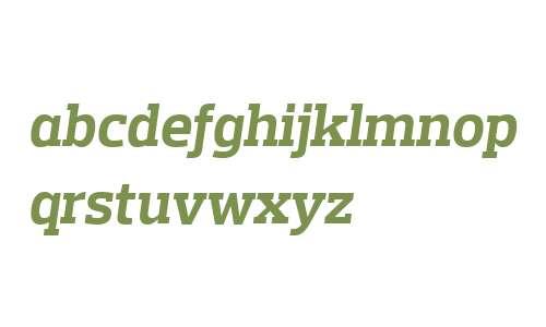 Prelo Slab W04 Bold Italic