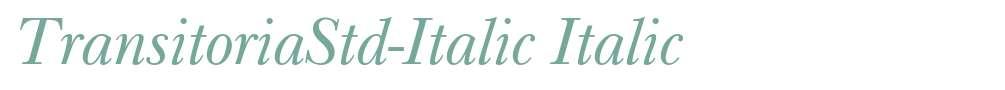 TransitoriaStd-Italic