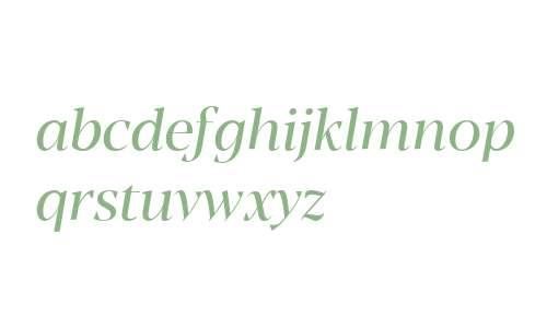 Blacker Display Italic