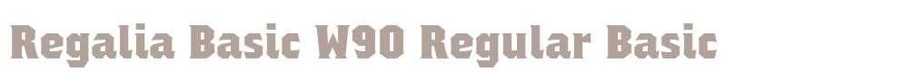 Regalia Basic W90 Regular