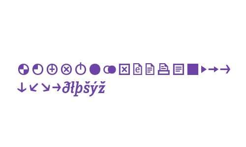 ZineSlabDis Medium Italic Exp