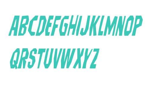 Hitchblock Condensed Italic