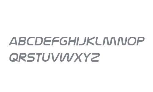 Nasalization W00 Italic