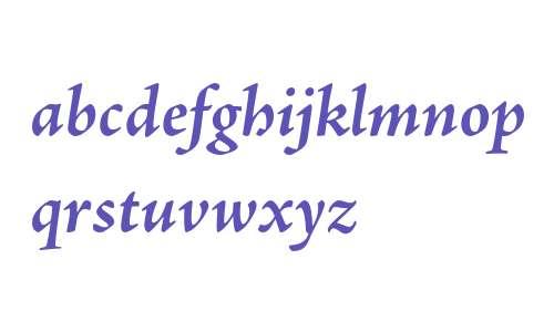 Adobe Jenson Pro Bold Italic
