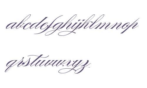 Burgues Script W00 Regular