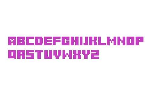 Minecraft Title Cyrillic Regular
