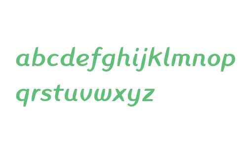 Inagur W04 Medium Italic